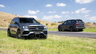 Drive Car of the Year Best Upper Luxury SUV group shot.