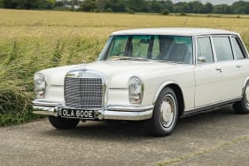 George Harrison's 1967 Mercedes-Benz listed for sale with original plates