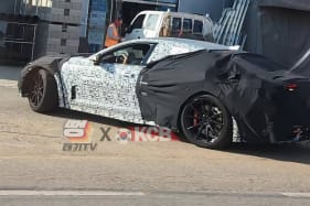 A sneaky look at what could be Kia's upcoming flagship sportscar