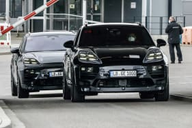 Porsche's popular mid-size SUV will be offered with all-electric power,