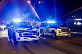 When supercars don't do the job, the UAE police turn to the Toyota LandCruiser