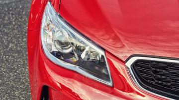 2016 Holden VFII Commodore SS-V's new front bumper