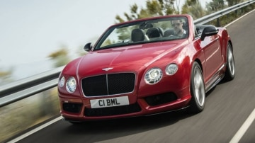 Contintental GT V8 S Coupe and convertible