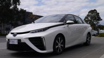 Behind The Wheel Of Toyota's Hydrogen Fuel Cell Future