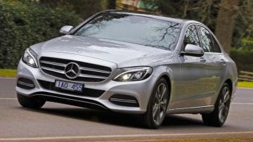 The Mercedes-Benz C200.