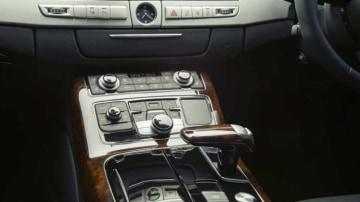 New Audi A8 luxury limousine.