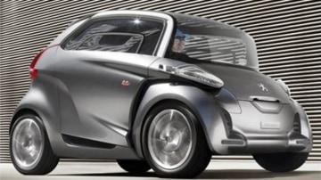 Peugoet BB1 electric concept