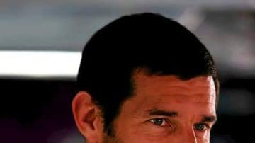 Mark Webber of Australia