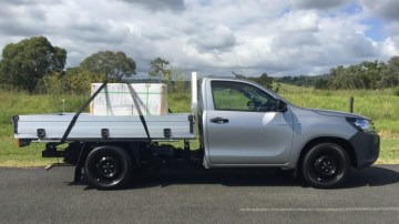 Toyota HiLux SingleCab Workmate 4x2 has a payload of 1210kg.