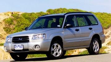 2002 Subaru forester.