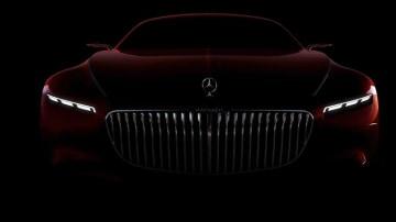 Mercedes-Maybach Coupe Teased Again Ahead Of Pebble Beach