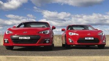 Subaru BRZ and Toyota 86