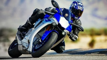 Super specs: The new Yamaha R1 promises class-leading performance.