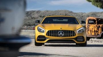 2017 Mercedes-AMG GT Roadster.