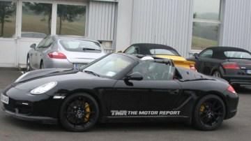 2011 Porsche Boxster Speedster Spied Testing