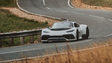 Mercedes-AMG Project One prototype unleashed