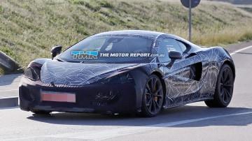 First McLaren Sports Series Model Spied Testing