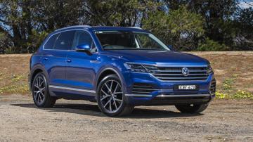 2020 best large luxury suv volkswagen touraeg exterior