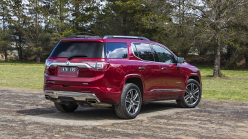 2020 best large suv holden acadia exterior rear