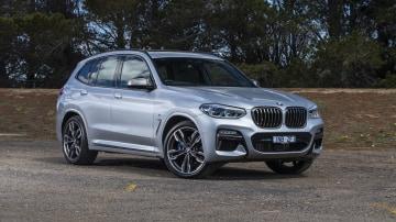 2020 best medium luxury suv bmw X3 exterior