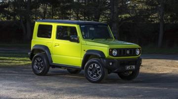 2020 best off-road suv suzuki jimny exterior rear