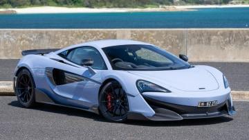2020 best sports car over $100k mclaren 600LT exterior