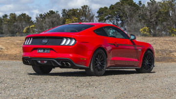 2020 best sports car under $100k ford mustang exterior rear