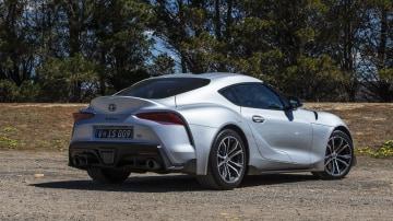 2020 best sports car under $100l toyota supra exterior rear