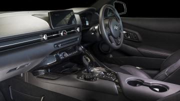 2020 best sports car under $100k toyota supra interior