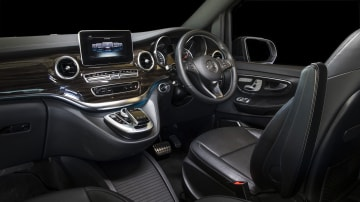 2020 best people mover finalist mercedes v class interior front