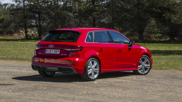 2020 best small luxury car audiA3 exterior rear