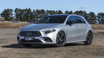 2020 best small luxury car merecedes benz a class exterior