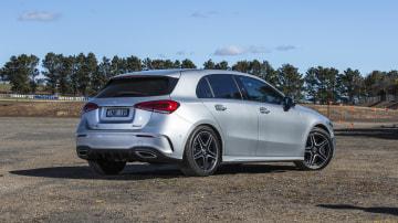 2020 best small luxury car merecedes benz a class exterior rear