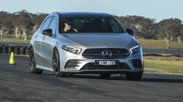 2020 best small luxury car merecedes benz a class exterior road