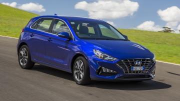 2021 best small car finalist hyundai i30 exterior front