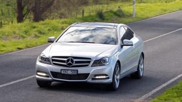 2012 Mercedes-Benz C-Class Coupe - Australia