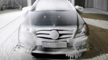 Mercedes-Benz wind tunnel