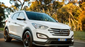 Hyundai Santa Fe SR is the South Korean brand's first attempt at a sporty SUV.