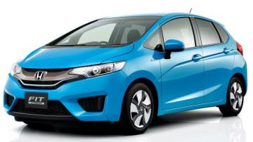 The Honda Jazz Hybrid (called the Honda Fit in Japan).