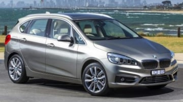 The new BMW 225i Active Tourer, the first front-wheel drive model from the German brand.