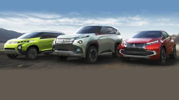 Mitsubishi Reveals GC-PHEV, XR-PHEV, AR Concepts Ahead Of Tokyo Show