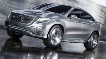 Paris Motor Show - Mercedes-Benz SUV Concept To Preview Tesla Model X Rival
