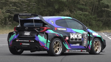 2021 Toyota GR Yaris tuned by HKS to 349kW with nitrous and widebody kit