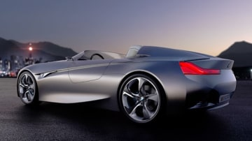 BMW has released official pictures of a small roadster concept, strengthening speculation that a smaller, less expensive version of the Z4 is under development.
