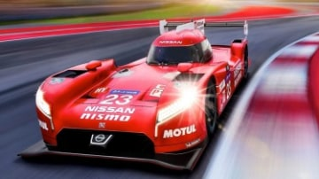 Nissan unveils radical racer