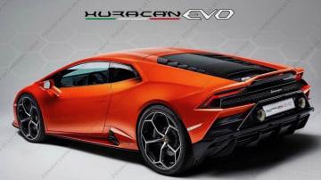 Lamborghini Huracan facelift leaks
