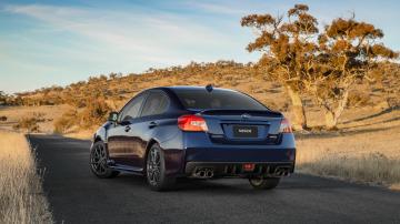 2018 Subaru WRX.