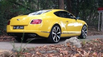 The 2014 Bentley Continental V8 S.