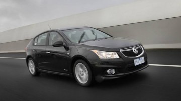 Holden Cruze SRi has the grunt that Alsion is looking for.