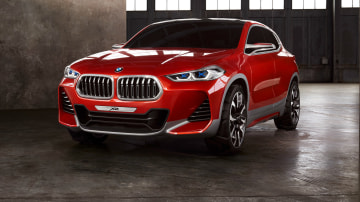 Paris Motor Show Unveiling For BMW's Evoque-Challenging X2